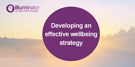 Developing an effective wellbeing strategy tickets
