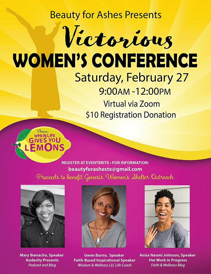 Victorious Women's Conference image