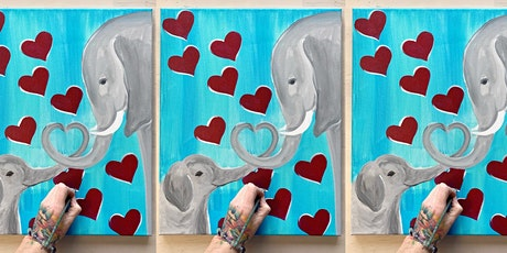 Sold Out: 2 for 1! Elephants: Sidelines with Artist Katie Detrich! tickets