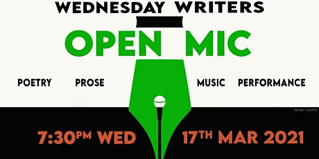 Wednesday Writers March Open Mic tickets