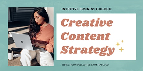 Intuitive Business Toolbox: Creative Content Strategy tickets