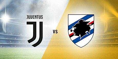 LIVE@!. Juventus - Sampdoria in. Dirett 2021 biglietti