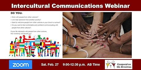 CESLM Intercultural Communication Webinar tickets