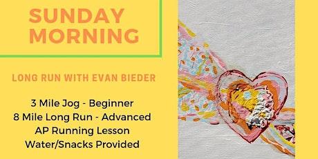 'Sunday Morning Run' w/ Evan Bieder tickets