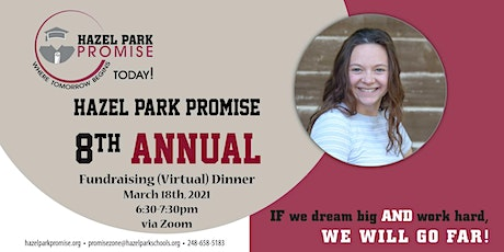 Hazel Park Promise Zone - 8th Annual (Virtual) Fundraising Dinner tickets