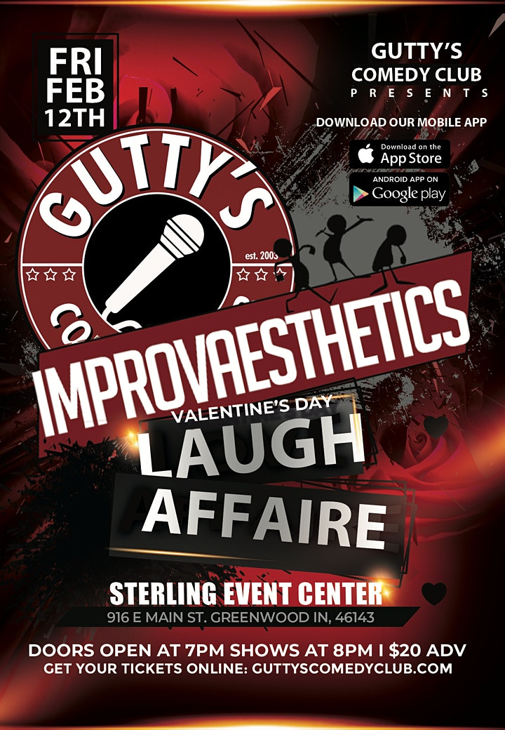 Gutty's Presents:  ImprovAesthetics image