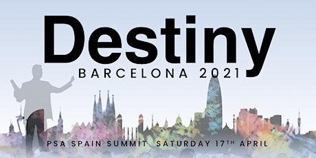 PSA Spain Annual Summit: Destiny Barcelona 2021 tickets