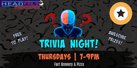General Trivia  at Fort Brewery & Pizza- Fort Worth tickets