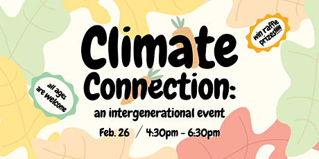 Climate Connection: An Intergenerational Event tickets