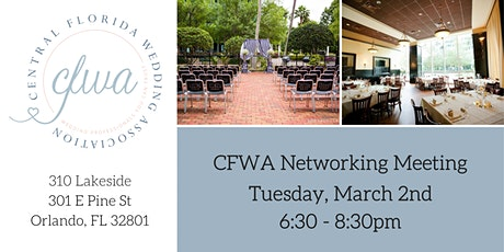 CFWA March Networking Event at 310 Lakeside tickets