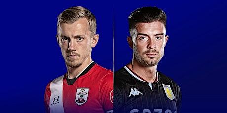 LIVE@!.MaTch Southampton v Aston Villa LIVE ON EPL 2021 tickets