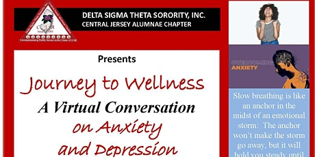 Journey to Wellness - A Virtual Conversation on Anxiety and Depression tickets