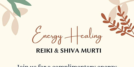 Complimentary Energy Healing tickets
