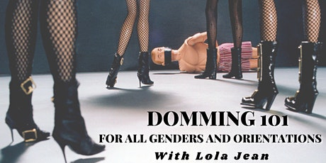 LIVESTREAM : Domming 101: for all genders and orientations tickets