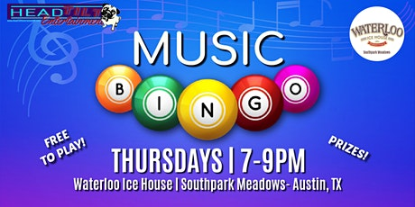 Music Bingo at Waterloo Ice House - Southpark Meadows tickets