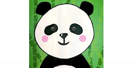 Kids Paint-Along Class: Peaceful Panda tickets
