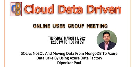 SQL vs NoSQL & Load MongoDB from OnPrem to Azure Data Lake by using ADF tickets