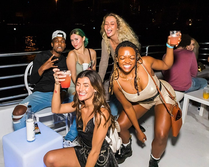 #SAVAGE YACHT MIAMI PARTY BOAT image
