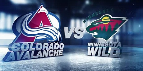 ONLINE@!. Minnesota Wild v Colorado Avalanche LIVE ON NHL 2021 tickets