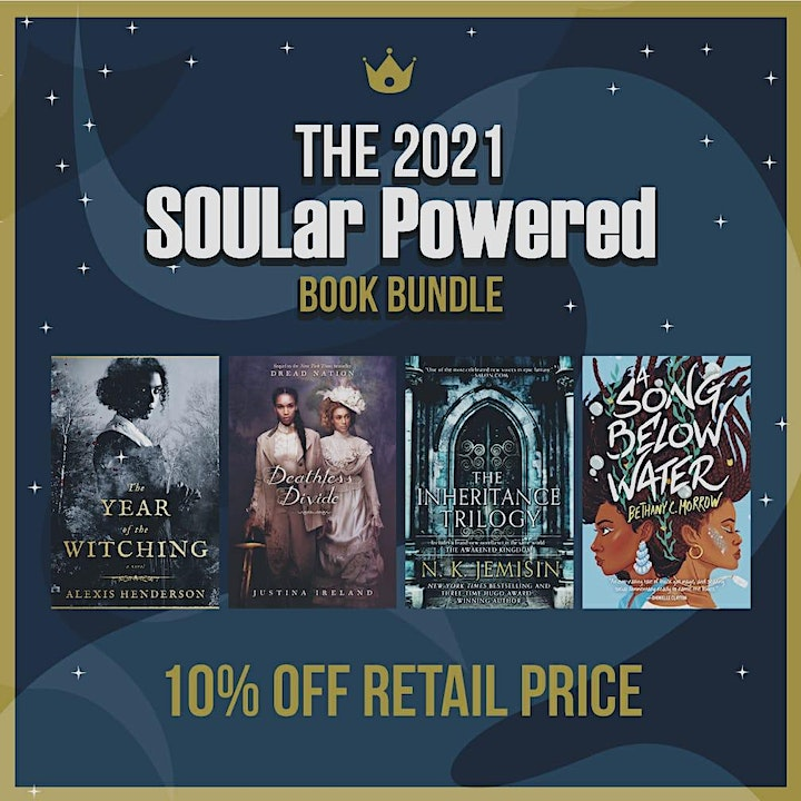 SOULar Powered Afrofuturism Slow-Reading Group - 2021 Book Clubs image