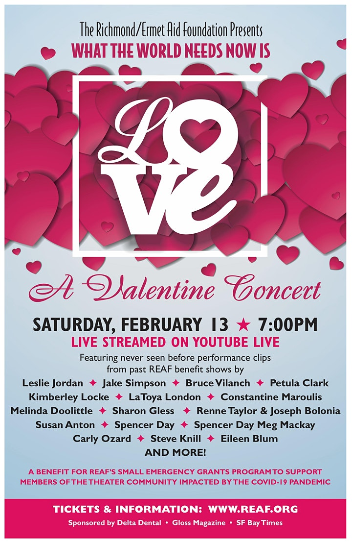 All You Need is Love Valentine Concert image