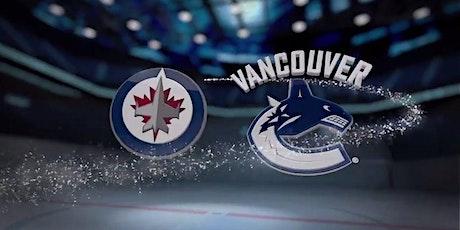 NHL-LIVE@!!..@ Vancouver Canucks v Winnipeg Jets LIVE ON NHL 2021 tickets
