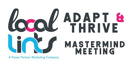 Local Links Adapt & Thrive tickets