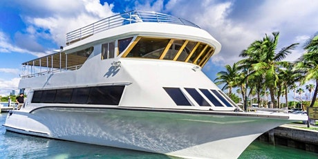 Unlimited Drinks! YACHT PARTY #MIAMI tickets