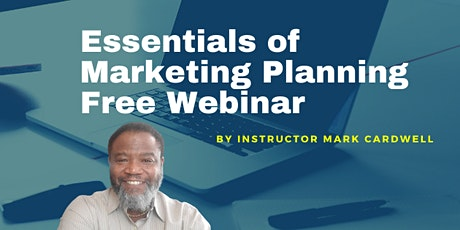 An Introduction to the Essentials of Marketing Planning Course tickets