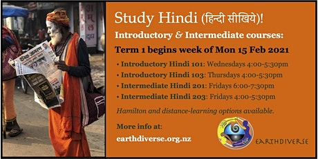 Study Hindi in 2021 with EarthDiverse! tickets