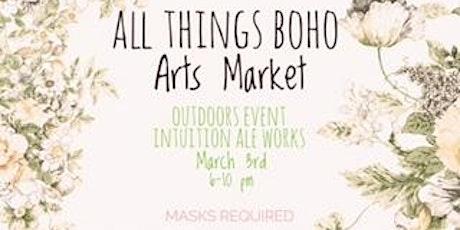 All Things Boho Arts Market tickets