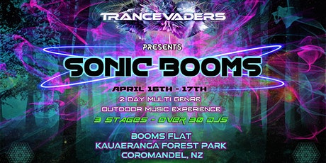 TRANCEVADERS presents SONIC BOOMS tickets