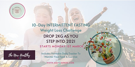 10 day Intermittent Fasting Weight Loss Challenge tickets