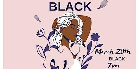 Black Womens History Improvised tickets