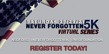 Never Forgotten Virtual 5k | Memorial Day Run tickets
