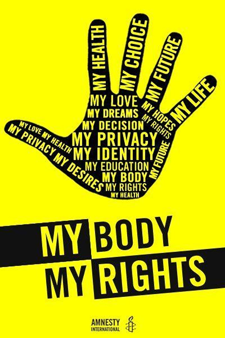 Amnesty Group 137 Online Meeting:  Reproductive Rights image