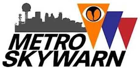 Metro Skywarn Training Class - Zoom #4 tickets