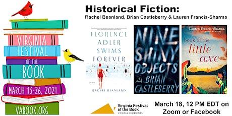 Historical Fiction: Beanland, Castleberry & Francis-Sharma tickets