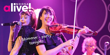 Shimmer - Party Tonight? Live music with MZAZA, food, wine and dancing tickets