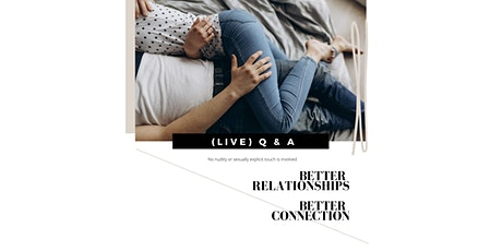 (LIVE) GAWLER - Q & A - Better Relationships Better Connection tickets
