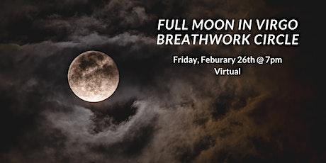 Full Moon in Virgo Virtual Breathwork Circle tickets