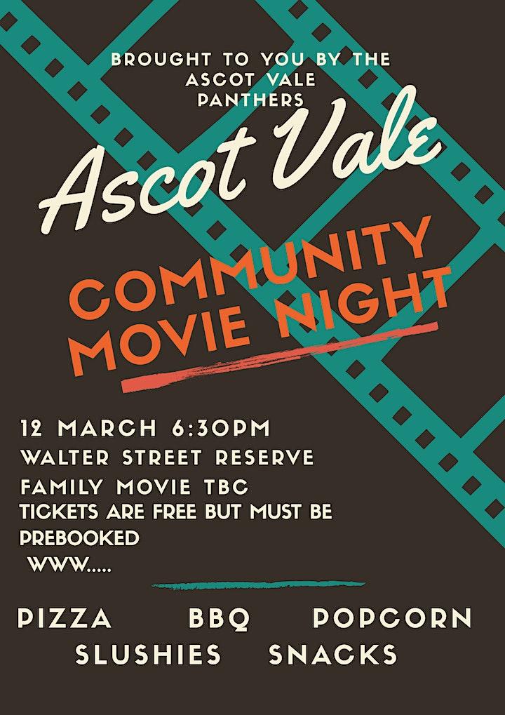 Ascot Vale Community Movie Night image