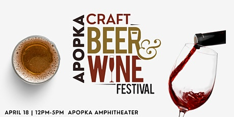 Apopka Craft Beer & Wine Festival tickets
