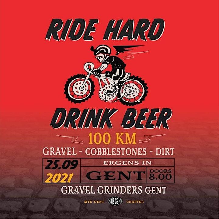 Afbeelding van Ride Hard, Drink Beer Gravelride 2