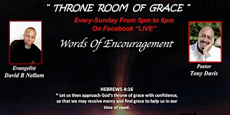 """""""Throne Room Of Grace"""" tickets"""