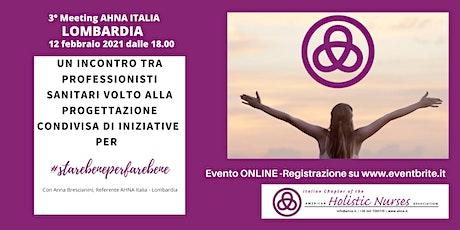 3° MEETING AHNA Lombardia biglietti