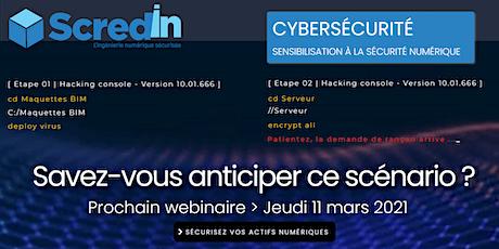 [Sécurité Numérique] Sensibilisation à la cybersécurité billets