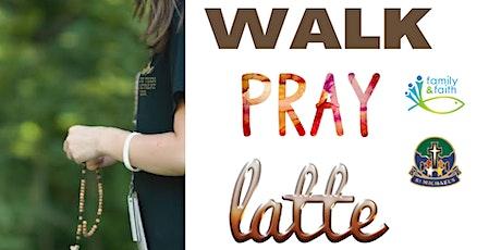Walk, Pray, Latte tickets