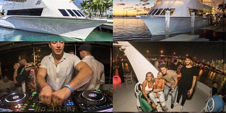 #CRAZY YACHT in MIAMI OPEN BAR! tickets
