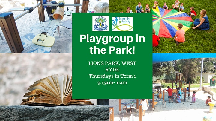 Playgroup in the Park image